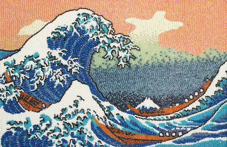 The Great Wave Jellybeans - Kristen Cumings