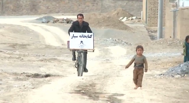bike library afghanistan -BusinessInsider video
