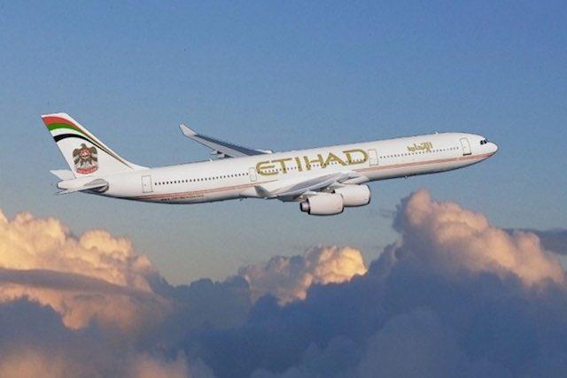 Etihad A340-500 Aircraft
