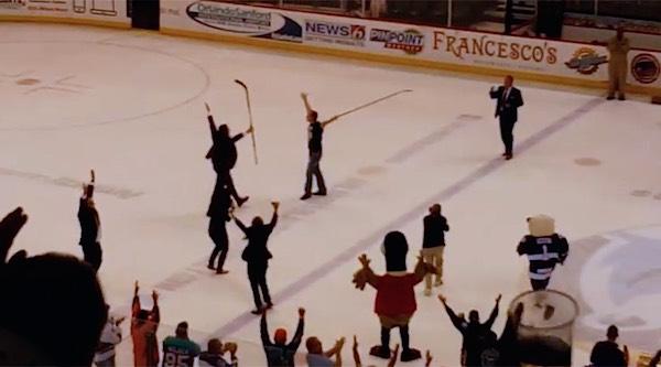 hockey win youtube