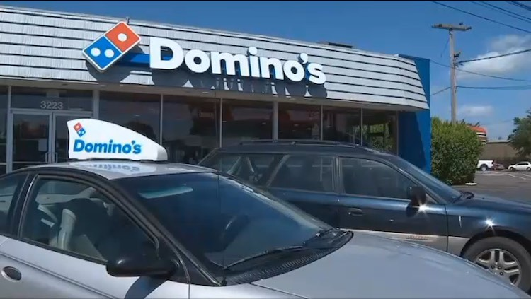 Dominos Delivery Saves Life screenshot KATU