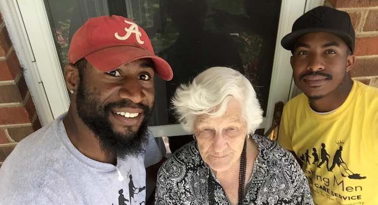 LawnCare for Elderly FB Rodney Smith Jr