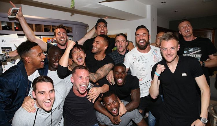 Leicester city football club photo-champs