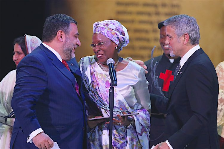 Marguerite Barankitse released Aurora Prize