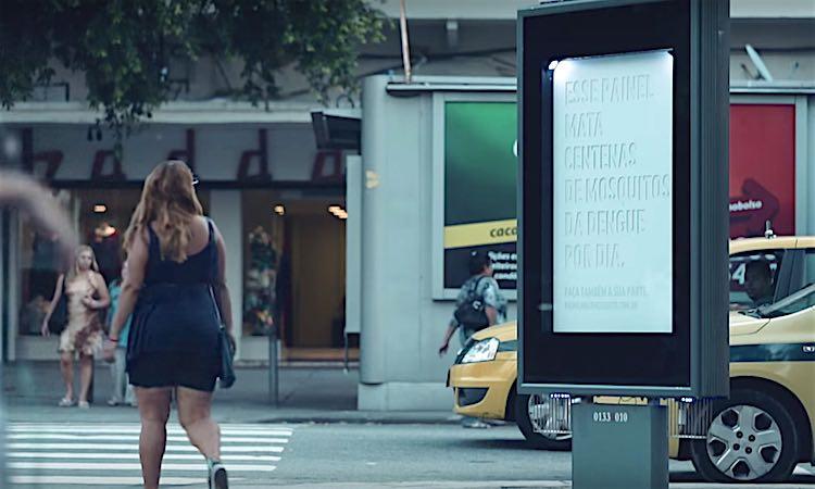 Mosquito Killing Billboard