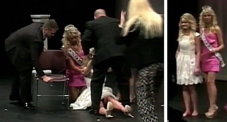 Pageant Contestant Seizure screenshot Inside Edition