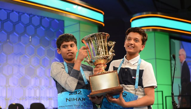 Scripps spelling bee champs-2016