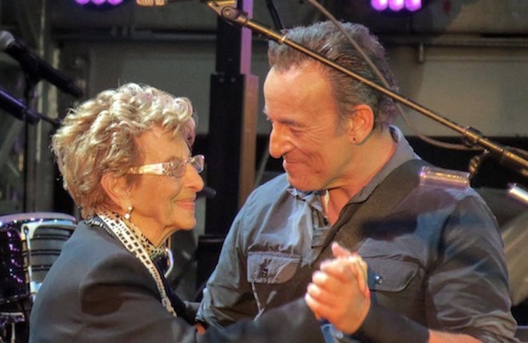 Springsteen mother dance mothers day screenshot FB Consequence of Sound