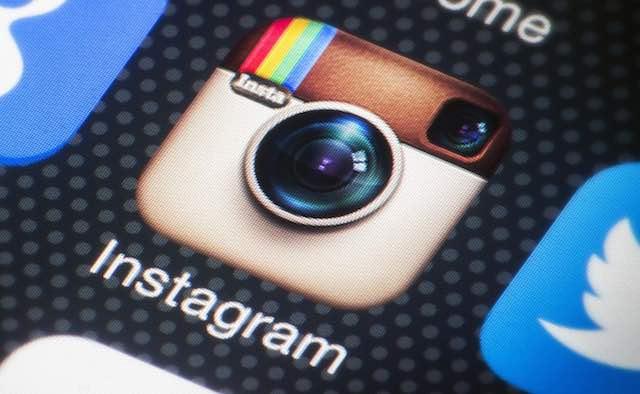 instagram-on phone