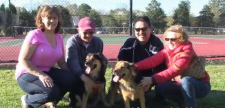 2 amigo dogs with families-peta video