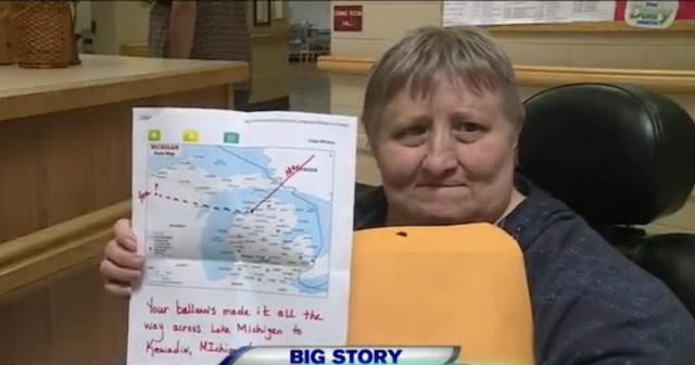 Balloon-message-returned-WSAW-TV video