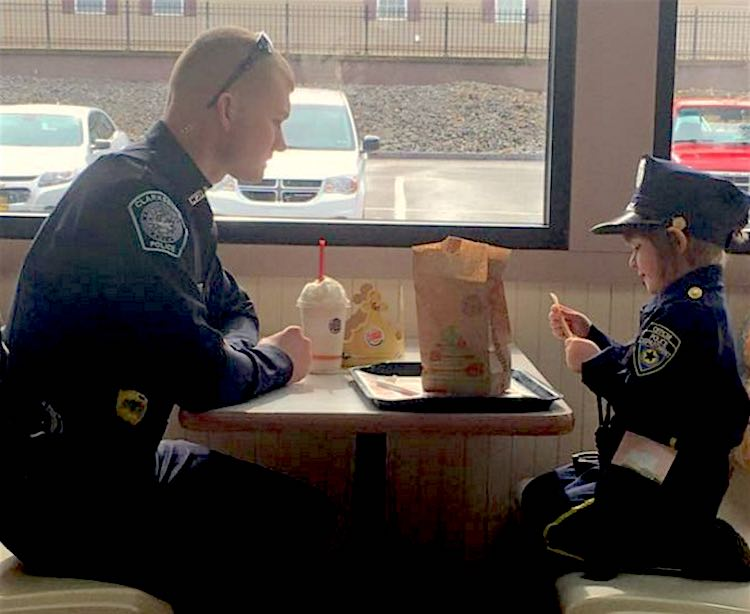 Cop Kid Lunch FB Tara Murphy