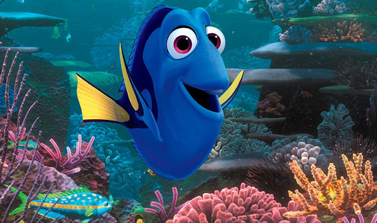 Finding Dory released Disney Pixar