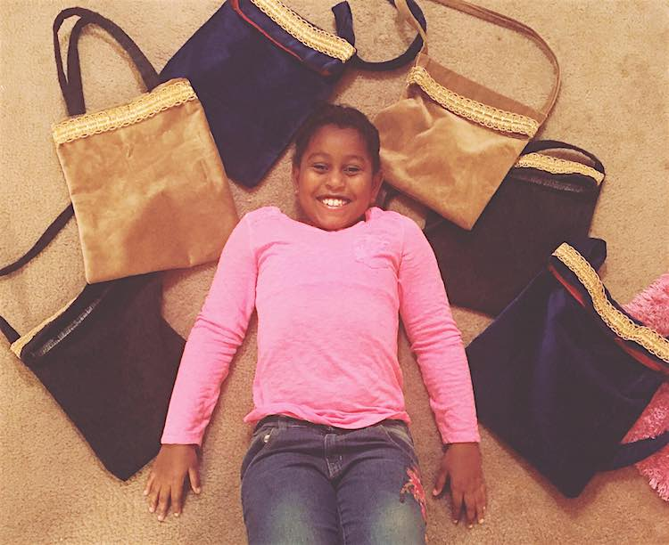 Handbags for the Homeless released Khloe Kares