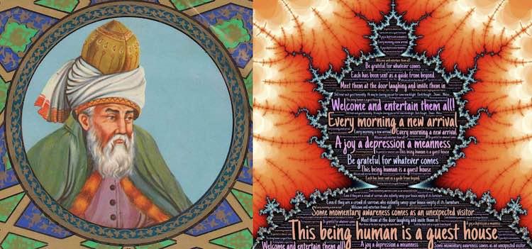Rumi and quotes PD Masnavi Manavi Molavi CC johnhain