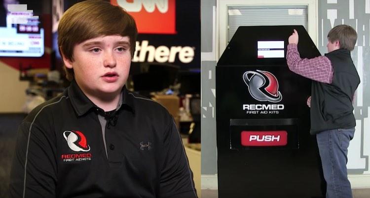 Taylor RecMed First Aid Vending screenshot CNN