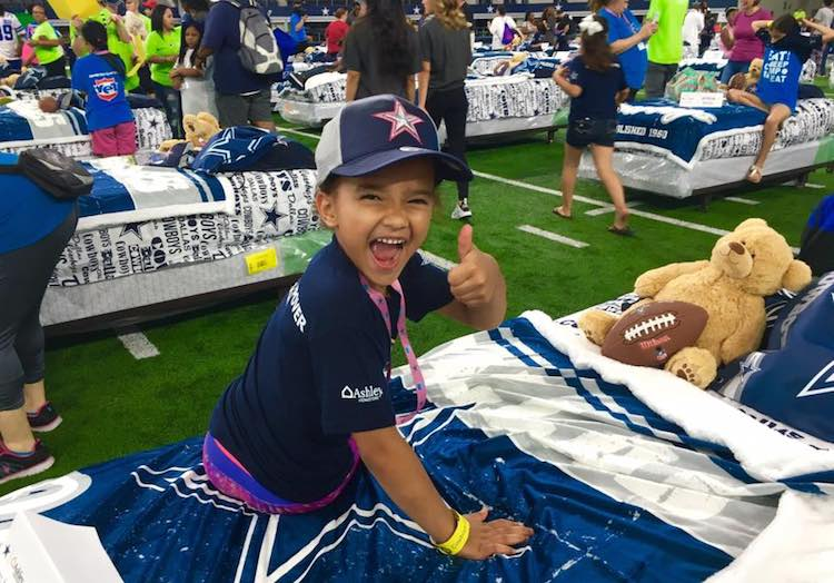 dallas cowboys bed giveaway child-FB-Mary Ann Downey Kirby