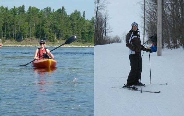 jennifer molson-ski-kayak-after ms cure-released
