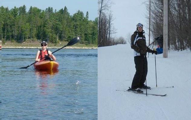 jennifer molson-ski-kayak-after ms cure-released