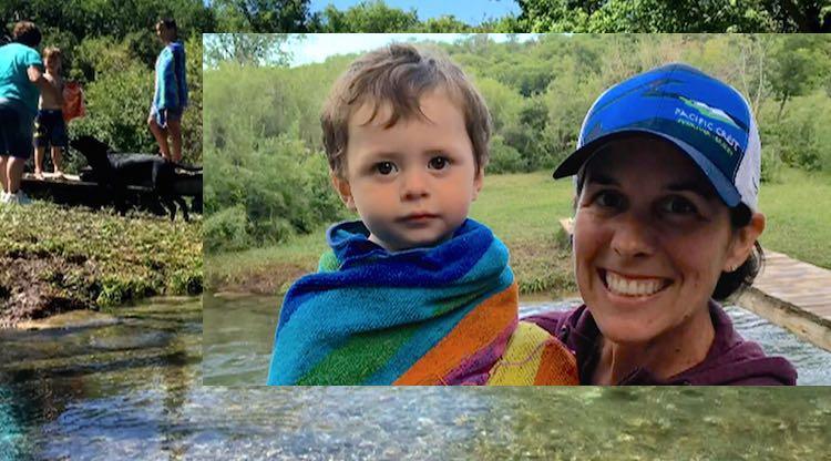 Darci Gillen Dawson-creek-saves-baby-family photo