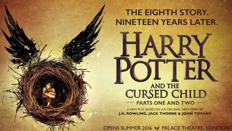 Harry Potter Cursed Child Poster released