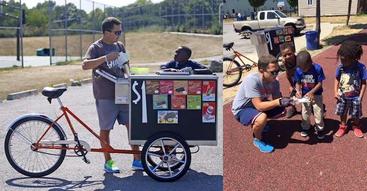 Ice Creamcycle Dude FB James Karagiannis