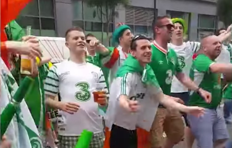 Irish Fans screenshot Storyful