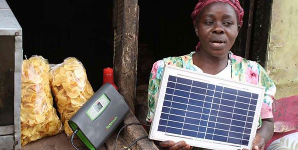 M-Kopa Solar-panels-in Africa