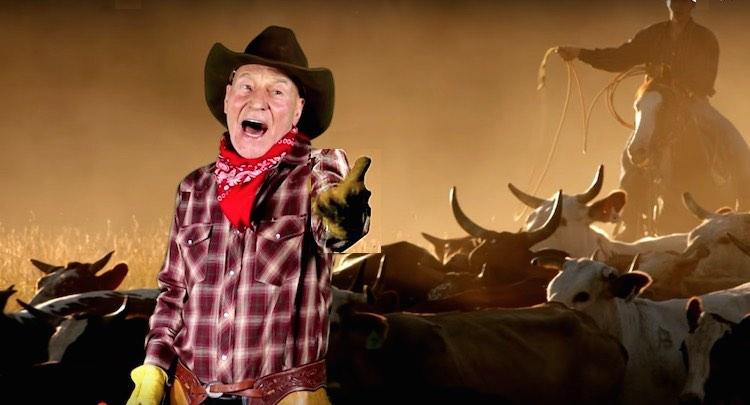 Patrick-Stewart-Cowboy-Pat-video