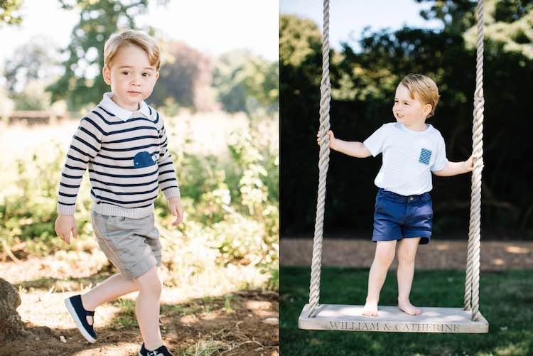Prince George 3rd Birthday Photos FB The Royal Family 2