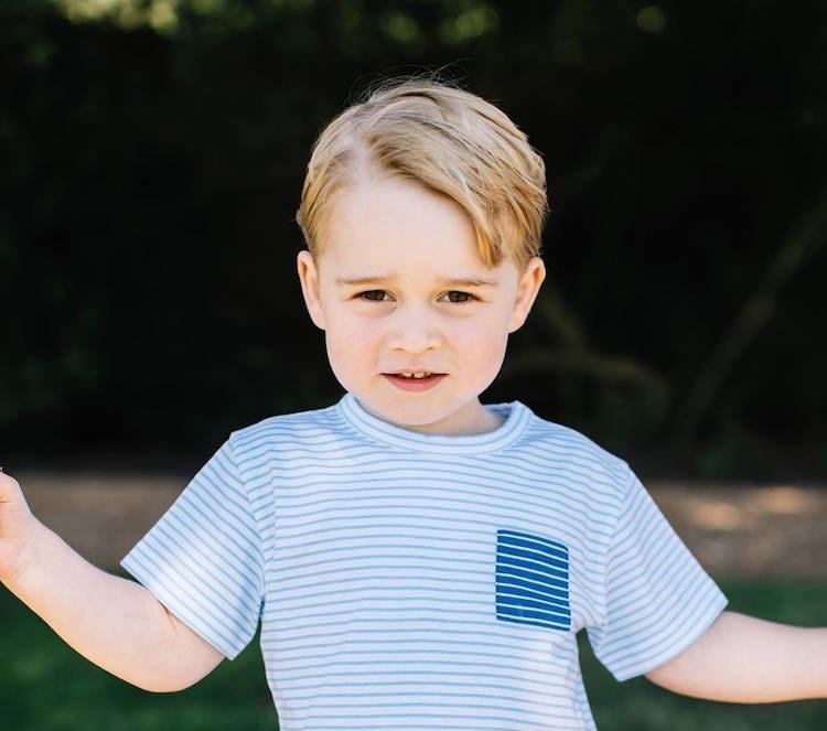 Prince George 3rd Birthday Photos FB The Royal Family 3