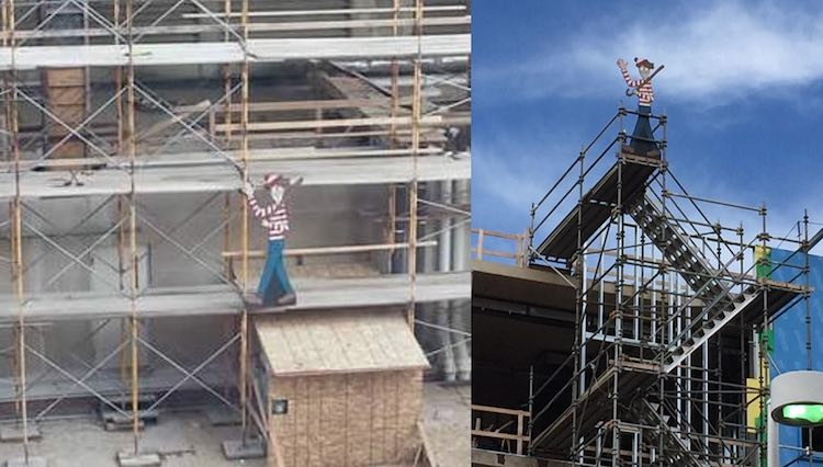 Wheres Waldo Construction FB Where's Waldo Memorial Childrens Hospital