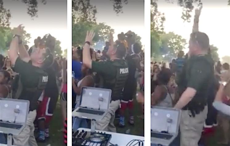 Wichita Dancing Cop FB Conlee Borchard