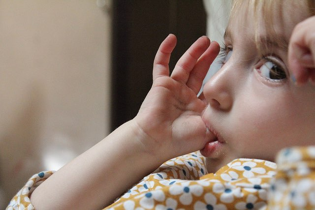 child sucking thumb-CC-Flickr-Various Brennemans