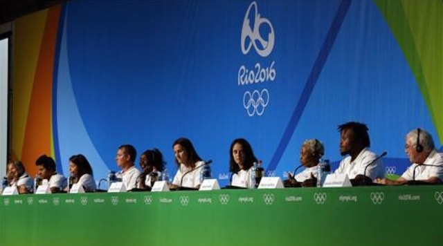 refugee olympic team presser-RepubHub-AlJazeera