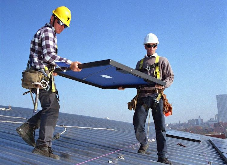 solar panel workers-National Renewable Energy Laboratory-FB