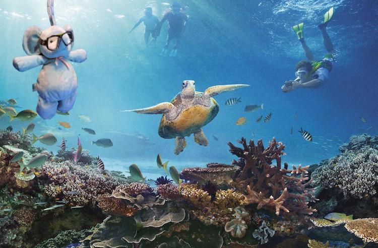 underwater Elephant toy CC Imgur