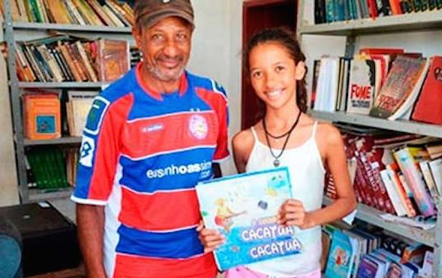 12-year-old With Books-credit to eco desenvolvimento