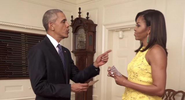 Barack and Michelle Quiz Each Other -YouTube