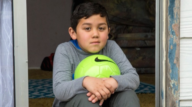 Boy with Ball-Stuff