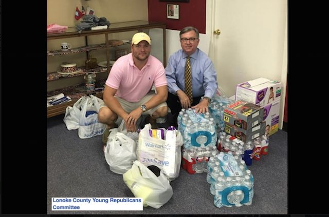 Flood relief-Lonoke County Young Republicans Committee-FB