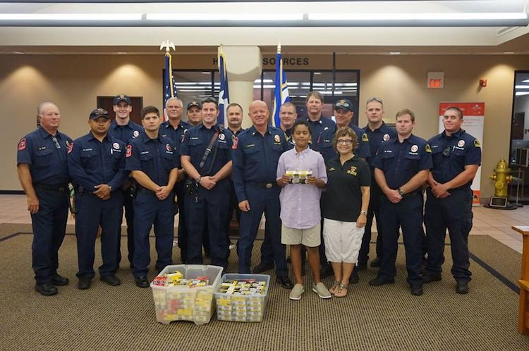 Hector Montoya and Firefighters-Facebook