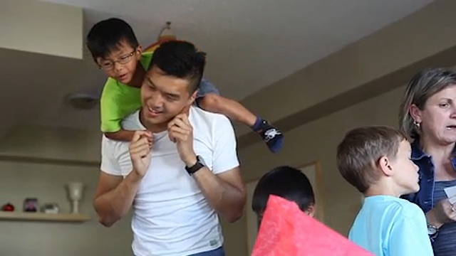 Kris Chung Playing With Kids-Mclean