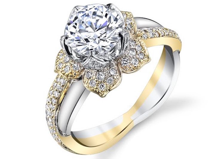 Manmade Diamond Ring-Follow Your Love