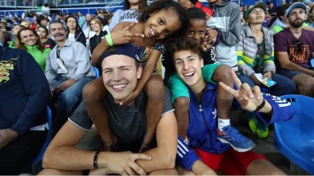 Olympians and Kids-Extra
