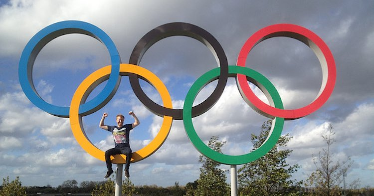 Olympic sign -CC photo by Steve Lacey