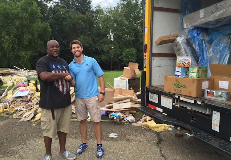 Roadie donation to flood victims -submitted
