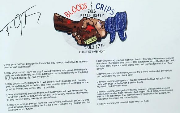 crips and bloods peace treaty