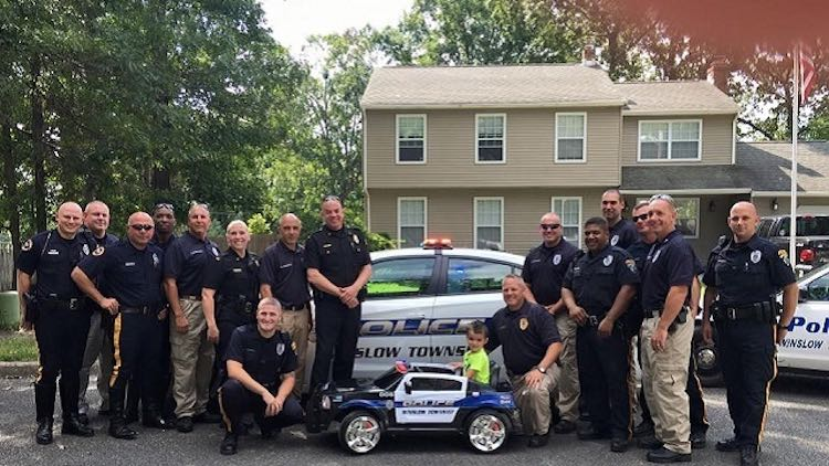 Boy Surprised by Winslow Twp Police Department -Released