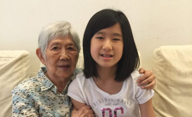 Possible tell, granny helped teen girl in sorry